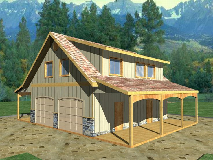 Plan 012G0011 Garage Plans and Garage Blue Prints from The Garage – Playhouse With Garage Plans