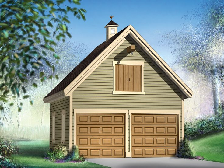 Garage Plans With Loft Country Style Garage Loft Plan