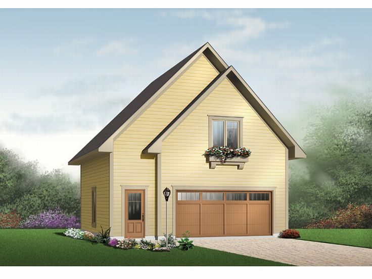 Garage apartment plans two car garage apartment plan for Cool garage apartment plans