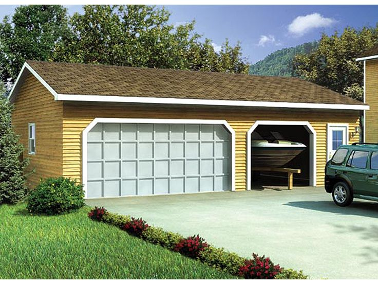 2 or 3 Car Garage Plan, 047G-0006
