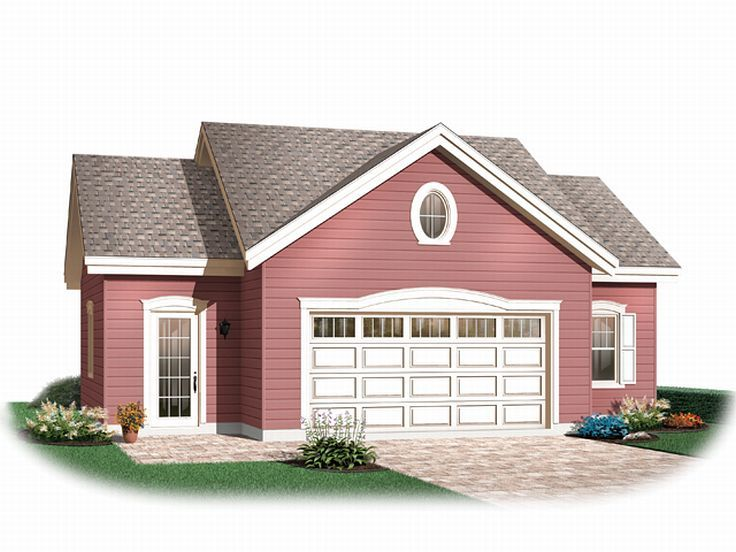 Garage workshop plans two car garage workshop plan for Oversized garage plans