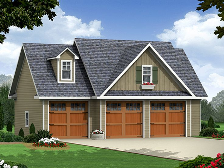 Carriage House Plan, 001G-0004