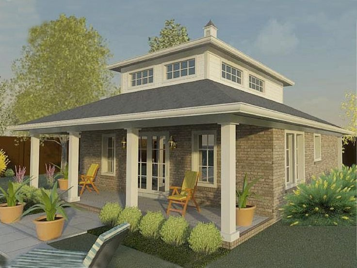 Plan 006p 0033 garage plans and garage blue prints from for Pool house plans with garage