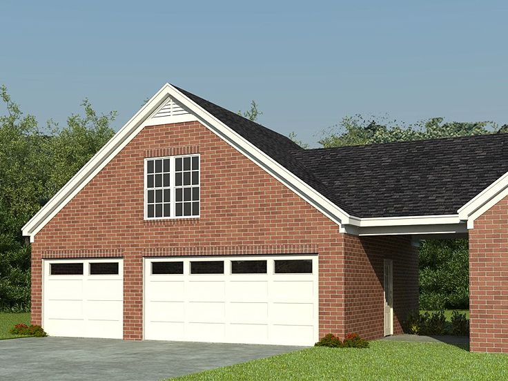 Three Car Garage Plans 3 Car Garage Plan With Loft