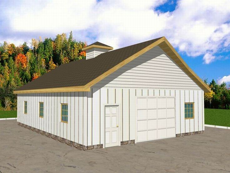 Tandem garage plans plan g at