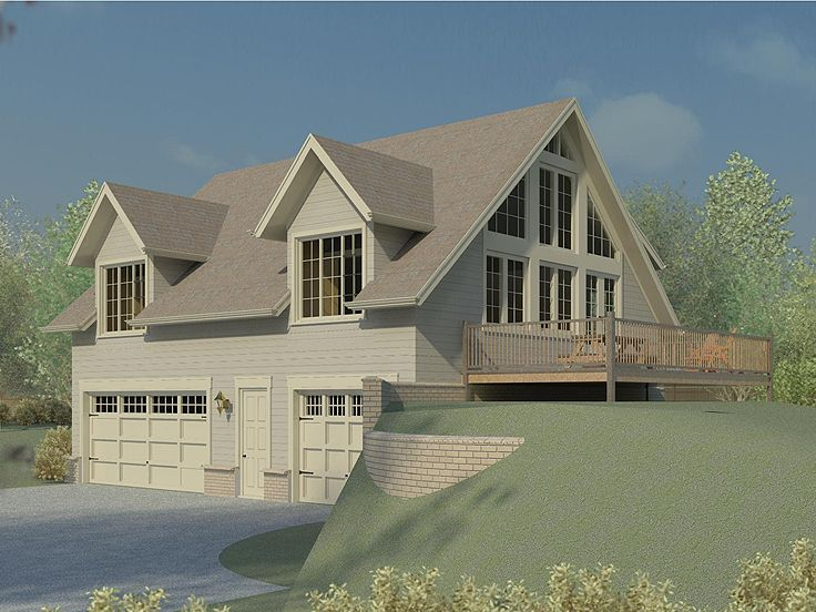Carriage House Plan, 006G-0148