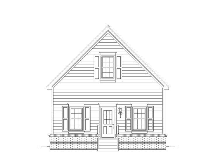 Storage Shed Plan, 006S-0004
