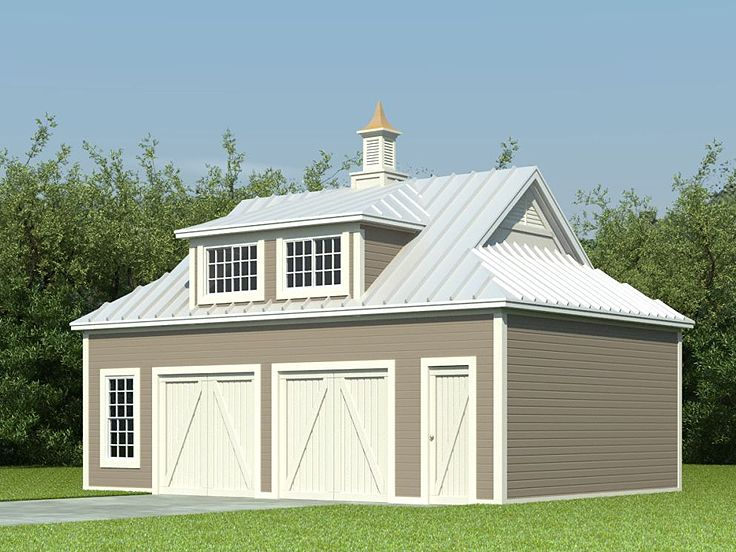 Garage with Flex Space, 006G-0080