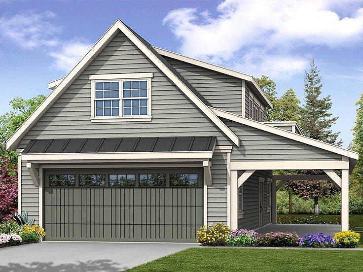 Plan 051g 0100 garage plans and garage blue prints from for California garage plans