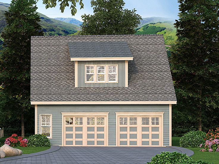 Garage with Flex Space, 053G-0027