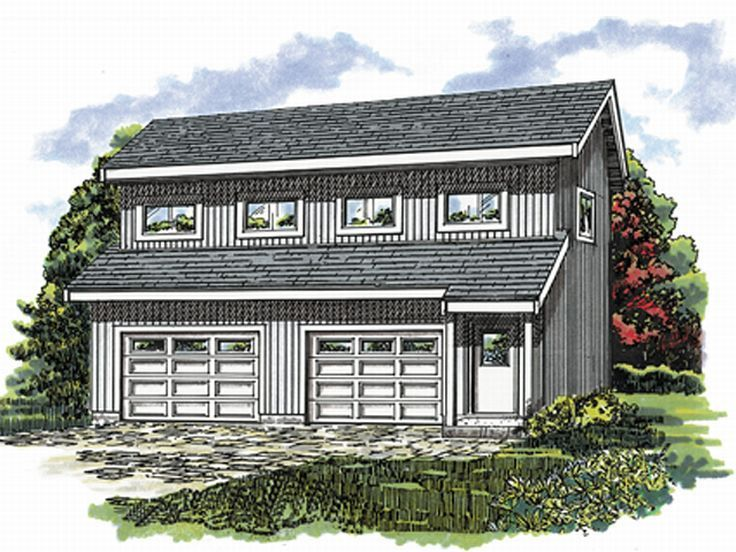 Garage Apartment Plans 2 Car Garage Apartment Plan With