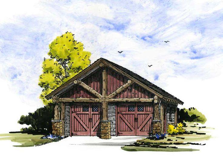 Plan 066G 0001 Garage Plans and Garage Blue Prints from The Garage
