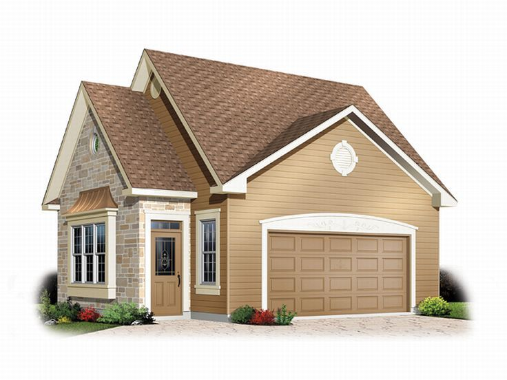 Garage loft plans detached 2 car garage loft plan with for Large garage plans