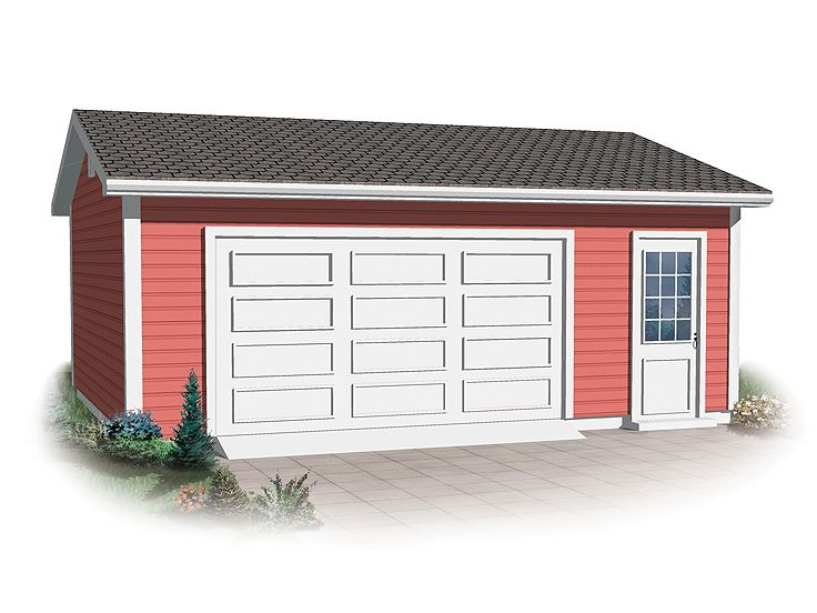 2Car Garage Plans – Simple 2 Car Garage Plans