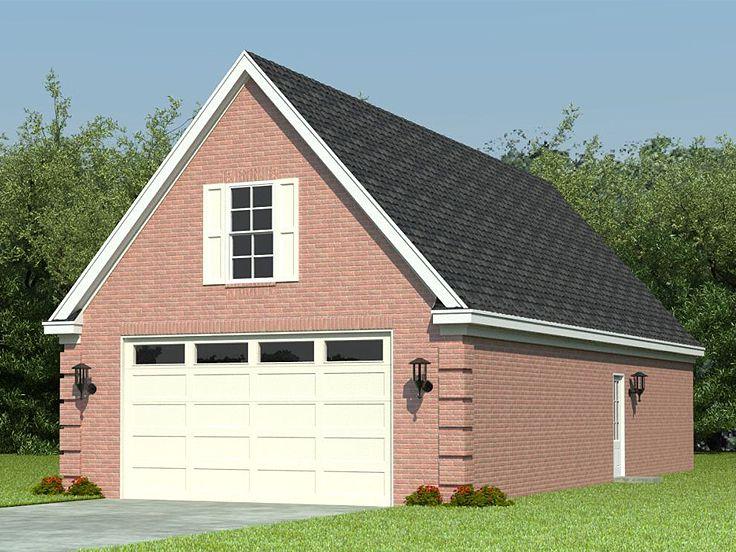 Garage plans with storage 2 car garage plan with storage for Garage storage loft plans
