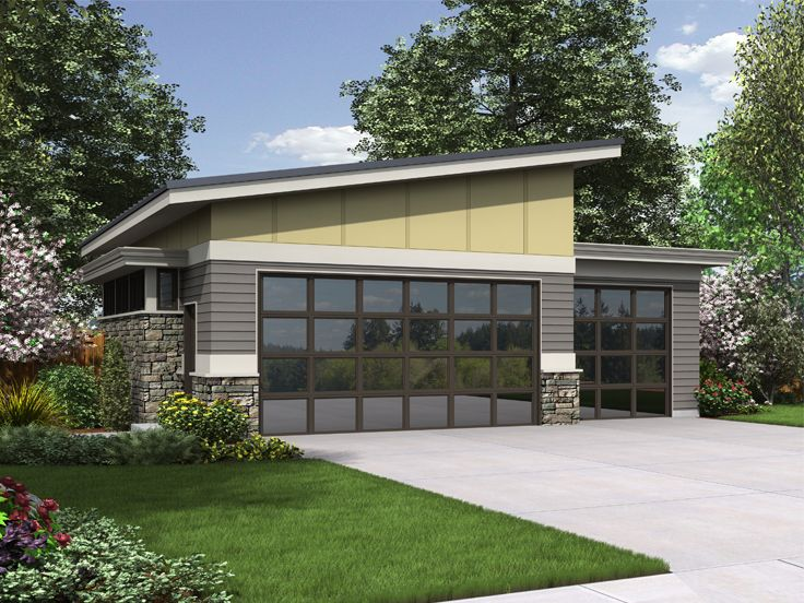 Plan 034g 0023 garage plans and garage blue prints from for The garage plan shop