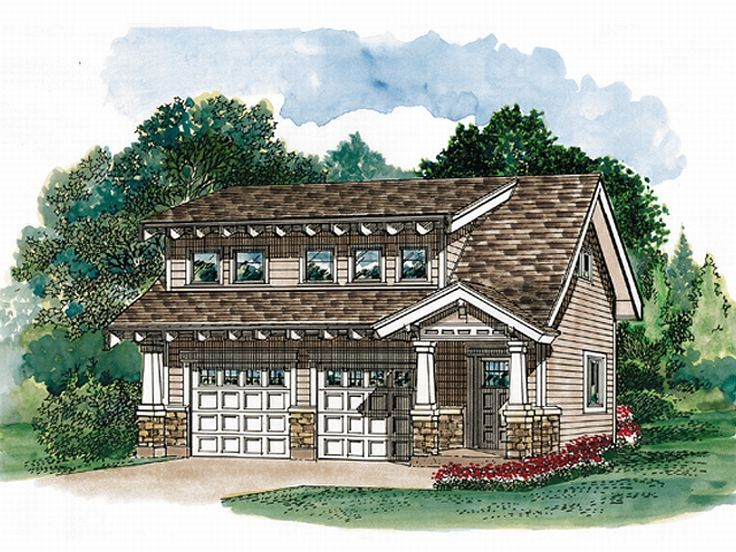 Carriage House Plan, 032G-0005