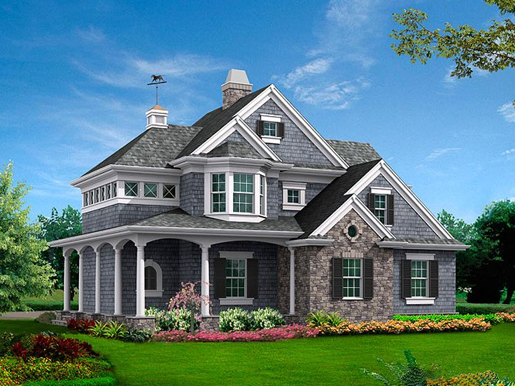 Carriage house plans victorian carriage house plan for Carriage home designs