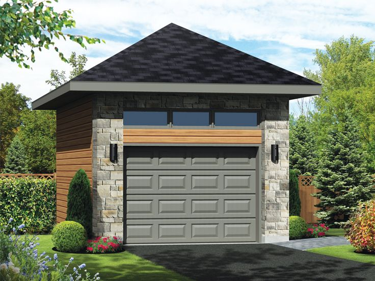 Multi-Size Garage Plan, 072G-0038