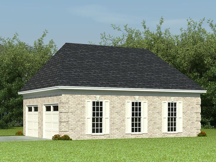 Boat storage garage plans double garage designed for for Garage plans with boat storage