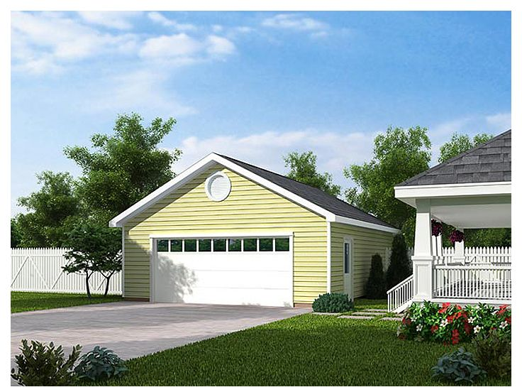 2-Car Garage Plan, 047G-0020