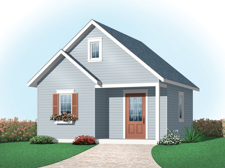 Backyard Shed Plan, 028S-0004