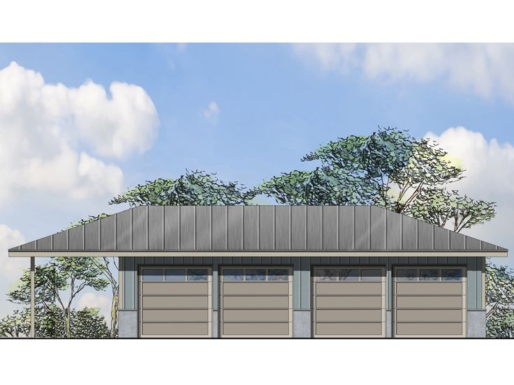 Plan 051g 0093 garage plans and garage blue prints from for Garage plans with boat storage