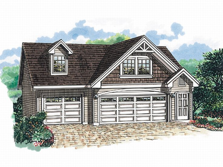 Garage apartment plans three car garage apartment plan for Home designs 3 car garage