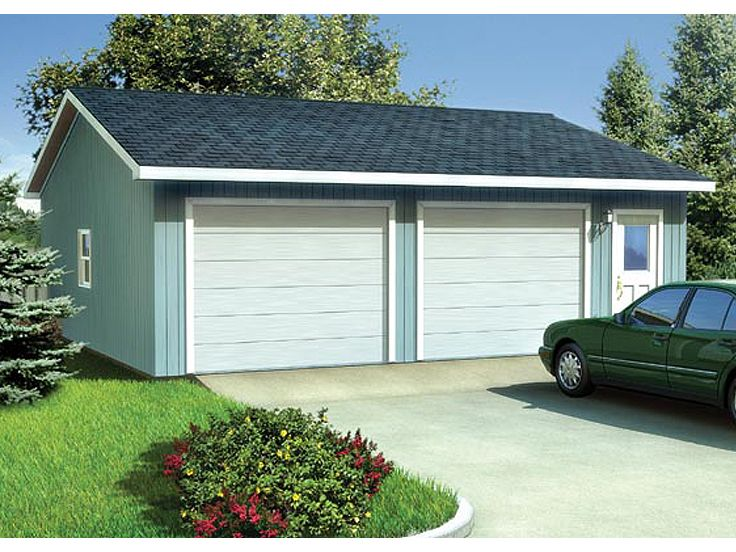 2 or 3 Car Garage Plan, 047G-0011