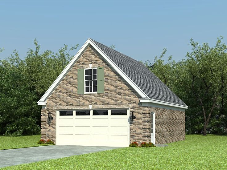 Boat storage garage plans 2 car garage with boat storage for Garage plans with boat storage