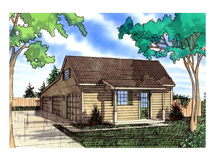 Three Car Garage Plans Farmhouse Style 3 Car Garage Loft