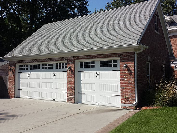 Three-Car Garage Plan, 050G-0036