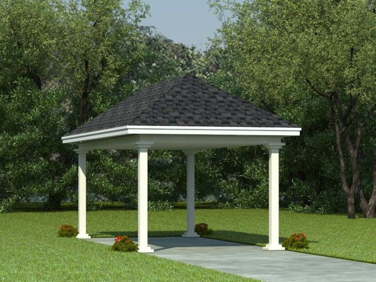 Carport plans 1 car carport plan with support posts 1 car carport