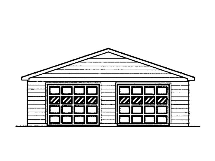 Garage with Boat Storage, 057G-0015