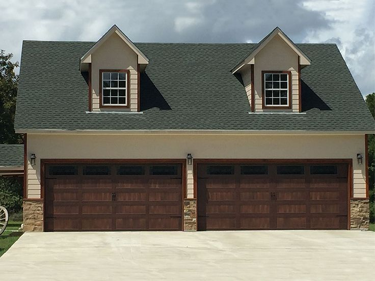 4 car garage plans 4 car garage with loft 062g 0011 at for Four car garage house plans