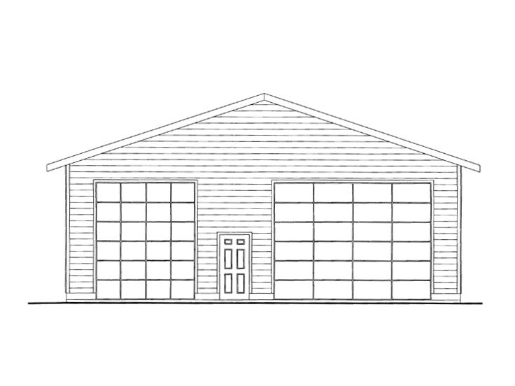 Plan 012g 0067 garage plans and garage blue prints from for Garage plans with boat storage