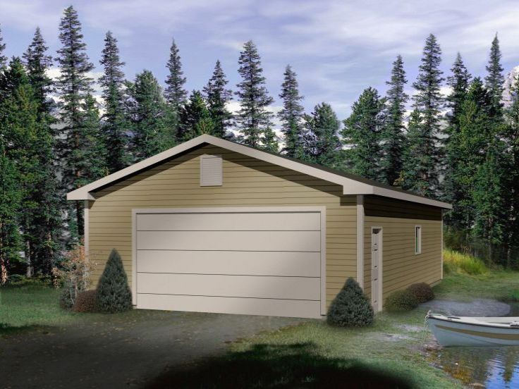 Tandem garage plans find house plans for Tandem garage