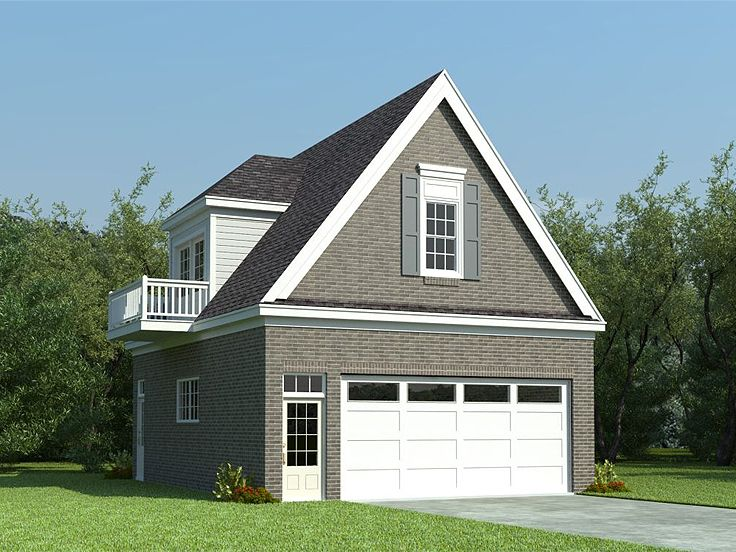 Garage Plans With Flex Space 2 Car Garage Loft Plan With: garage with studio plans