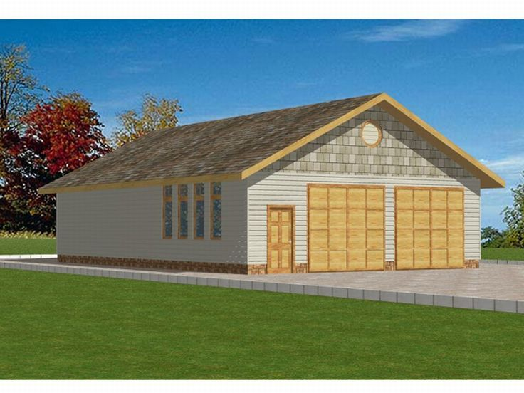 Plan 012g 0012 garage plans and garage blue prints from for Oversized garage plans