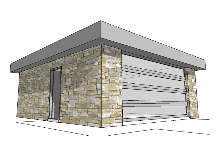 3 Car Garage Block : Cinder block garage plans ppi