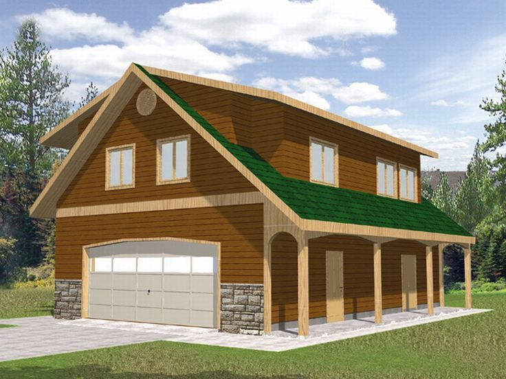 Plan 012g 0024 garage plans and garage blue prints from for Coach house plans