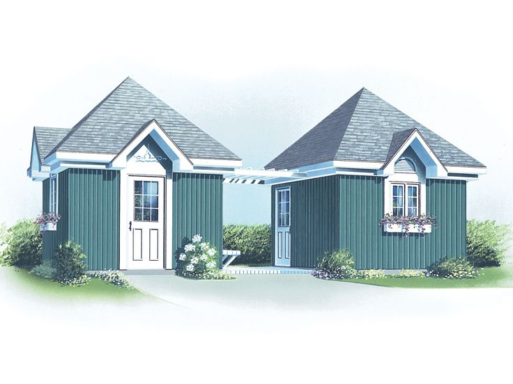 Lawn and Garden Sheds, 028S-0013