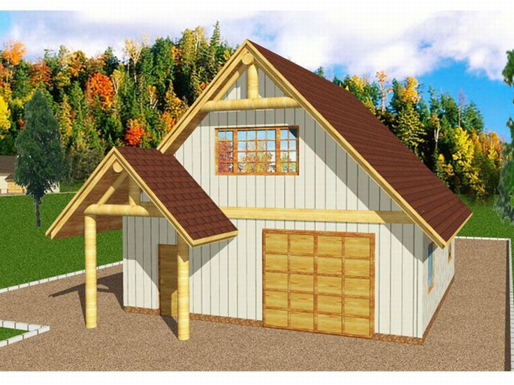 2-Car Garage with Storage, 012G-0010