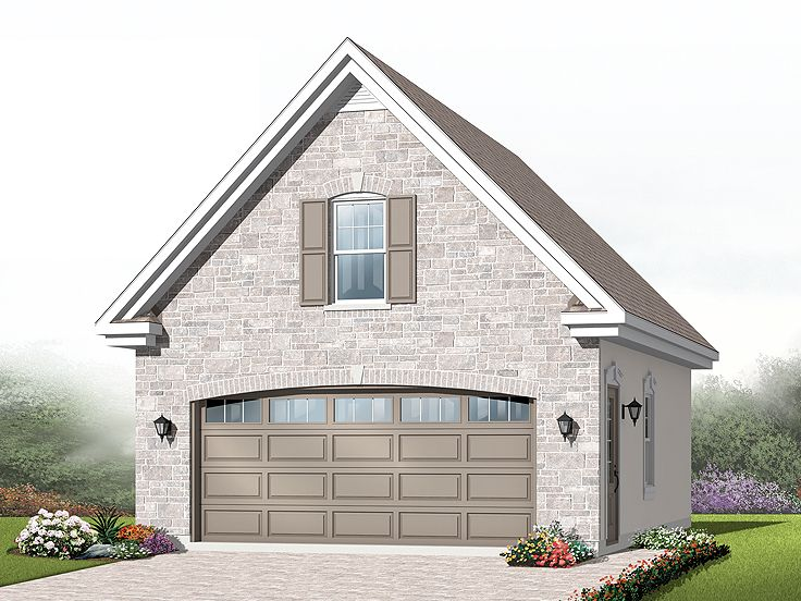 2-Car Garage Plan, 028G-0035