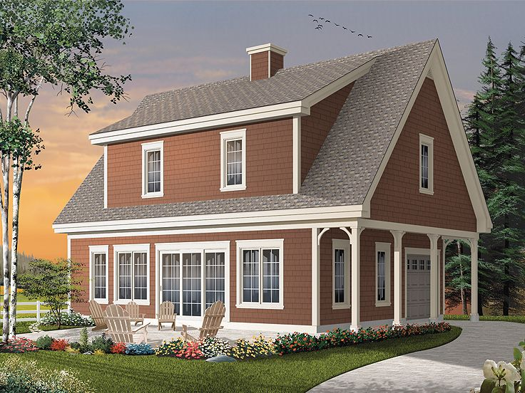 Carriage house plans garage apartment plan or vacation for Carriage home plans