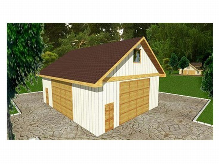 Plan 012g 0013 garage plans and garage blue prints from for Garage plans with boat storage