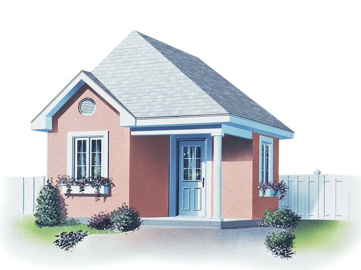 Shed Plan, 028S-0011