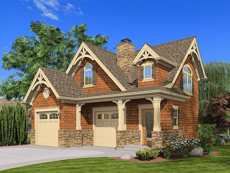 Carriage house plans carriage house plan with boat for Carriage home designs