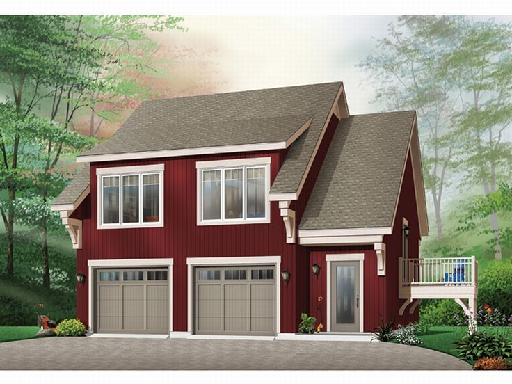 Carriage house plans 2 car garage apartment plan design for Carriage garage plans