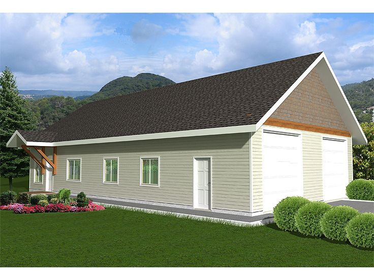 Plan 012g 0031 garage plans and garage blue prints from for The garage plan shop